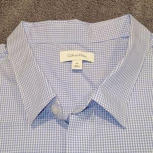 Calvin Klein short-sleeve dress shirt